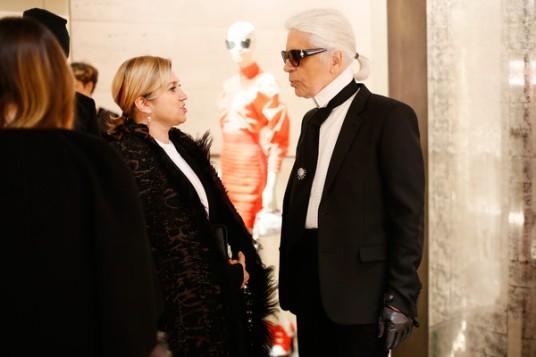 Karl+Lagerfeld+Palazzo+FENDI+ZUMA+Inauguration+eozii9JQbUEl