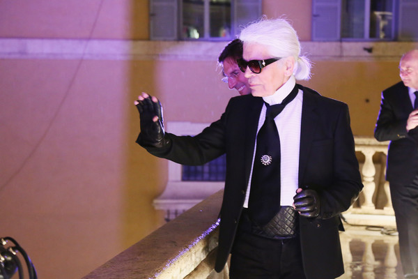 Karl+Lagerfeld+Palazzo+FENDI+ZUMA+Inauguration+WDRIN3cnGtQl
