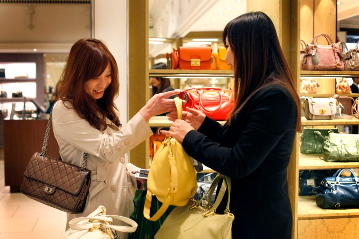 Harrods is encouraging Chinese shoppers through it's Union Pay credit card system.